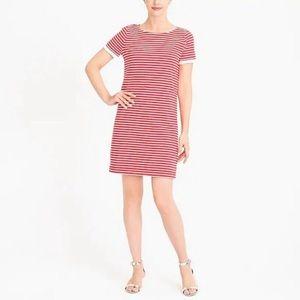 Jcrew striped shirt dress s